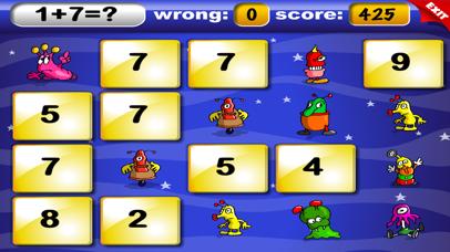 Basic Math with Mathaliens for Kids screenshot 3