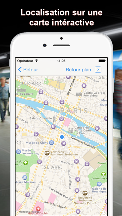 Screenshot #3 pour Metro FR - Paris, Lille, Lyon