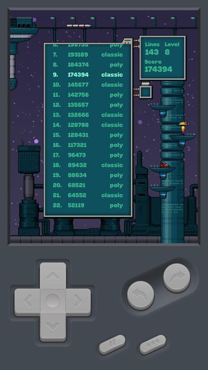 Tetromino – iBoy Retro Game screenshot-4