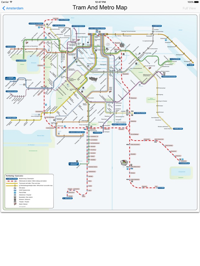 Amsterdam Metro Train Maps on the App Store