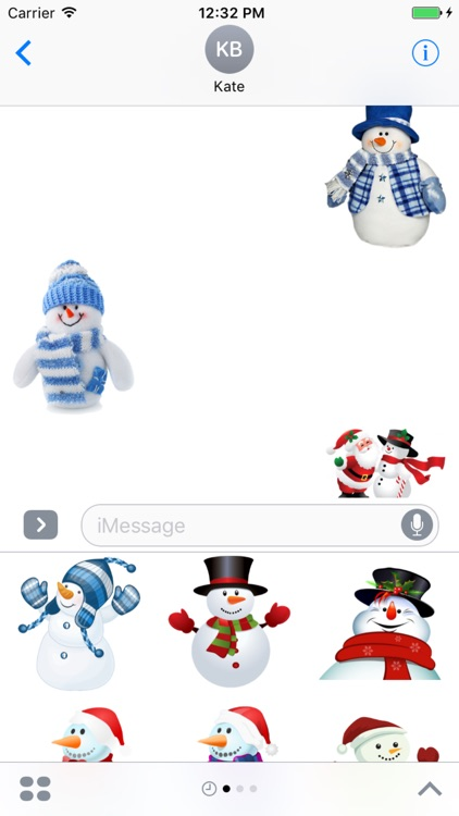 Snowman Stickers Pack