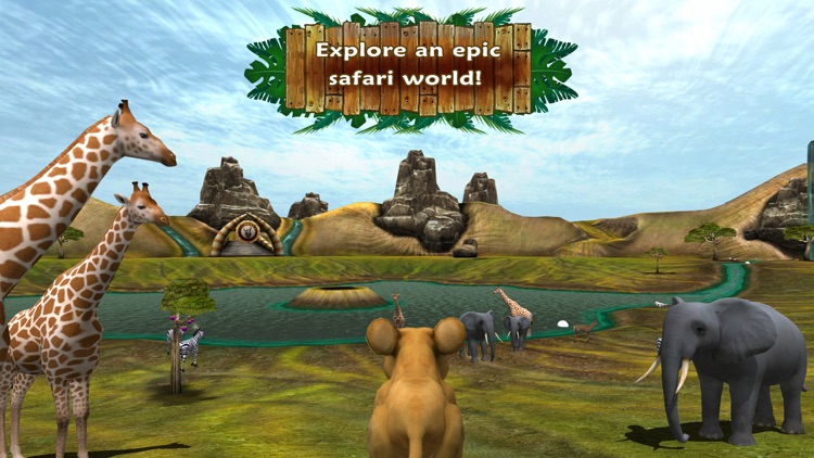 Safari Tales - literacy skills from creative play screenshot-1