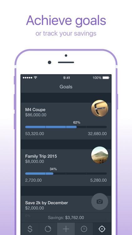 Saver – Personal Finance, Income & Expense tracker screenshot-4