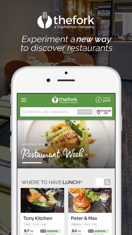 TheFork Restaurants - Bookings & Offers
