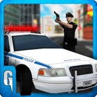 City Car Police Pilote Simulator - 3D Cop Chase icon