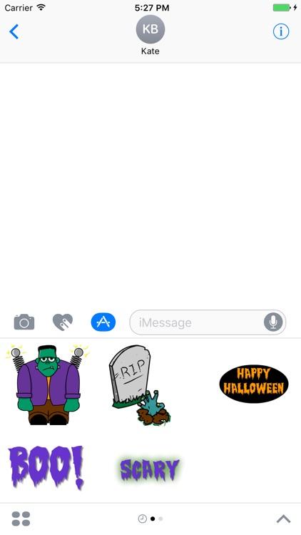 Boo! Stickers