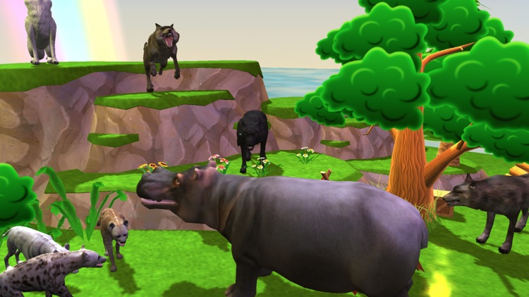 Wild Animal Zoo Simulator Pro screenshot-4