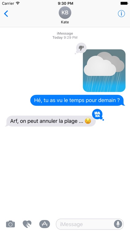 Meteociel Weather Stickers Pack