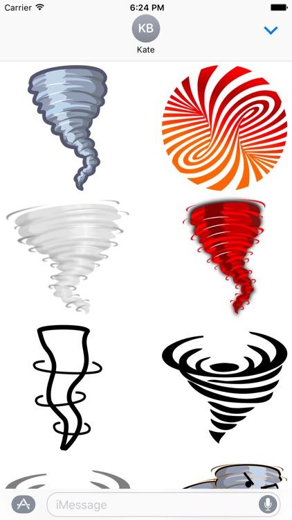 Tornado Stickers