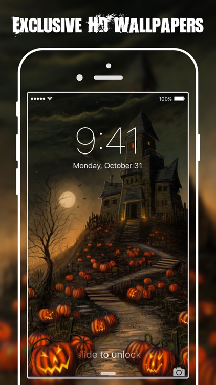 HD Halloween Wallpapers & Backgrounds Free screenshot-2