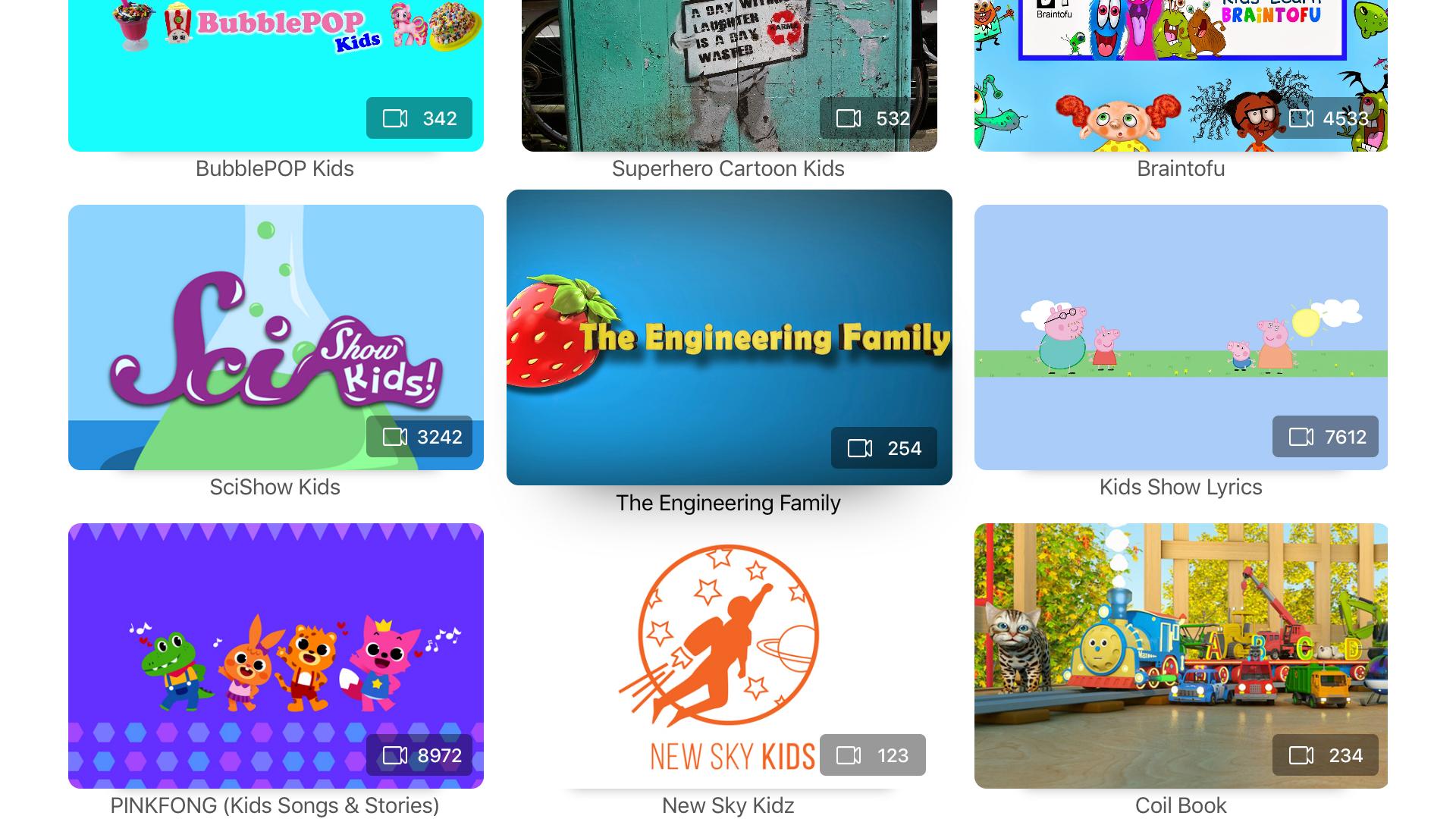 Kids Tube for YouTube screenshot 5