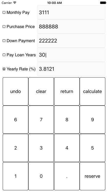 Loan Calculator - Very Good, Cheap screenshot-4