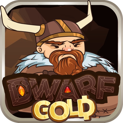 Viking Dwarf Gold - A match-3 gems adventure to Valhalla of a berserker warrior during viking age