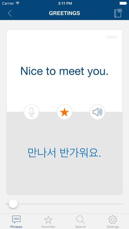 Learn Korean Phrases & Words