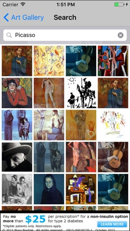 Art Gallery Free App - Explore Artwork & Fine Art
