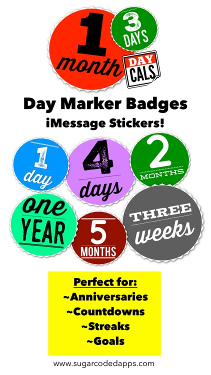 DayCals: Countdowns, Streaks, & Day Marker Badges