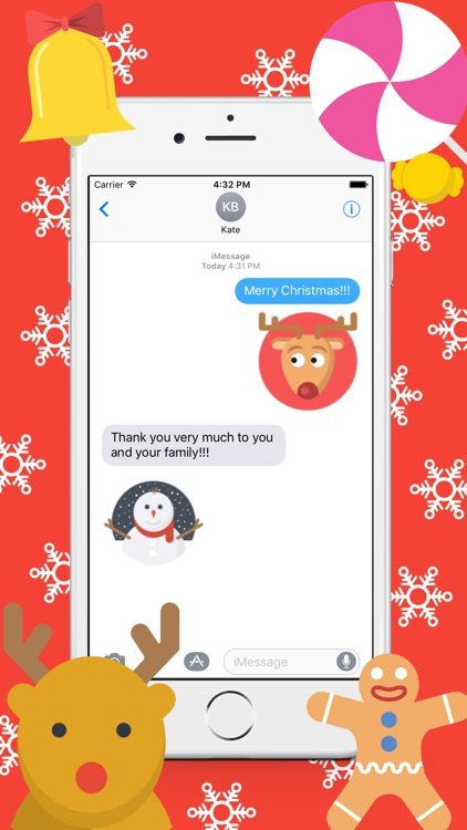 ChristmasEmoji - Stickers Pack