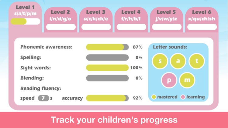 Phonics Farm Letter sounds school & Sight Words screenshot-3