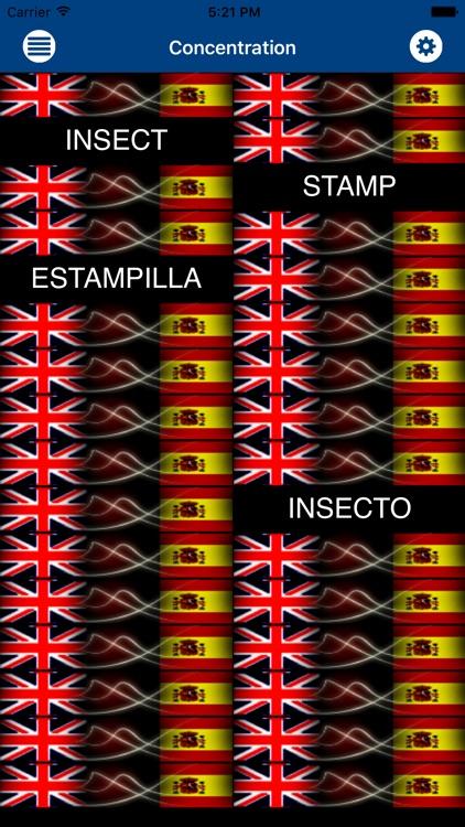 Alumno: Spanish Vocabulary Flashcards screenshot-3