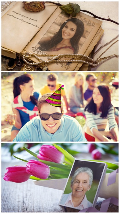 Birthday Cards Free: happy birthday photo frame, gift cards & invitation maker screenshot-4