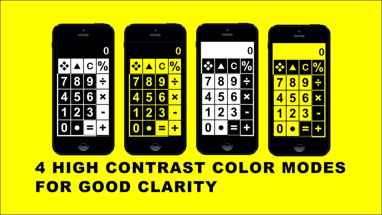 Big Calculator Low Vision screenshot-0