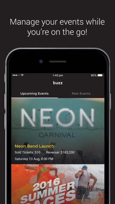 Buzz Event Manager