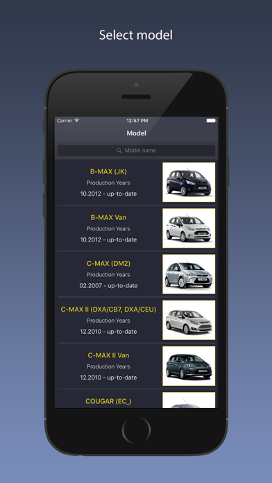 TechApp for Ford Screenshot