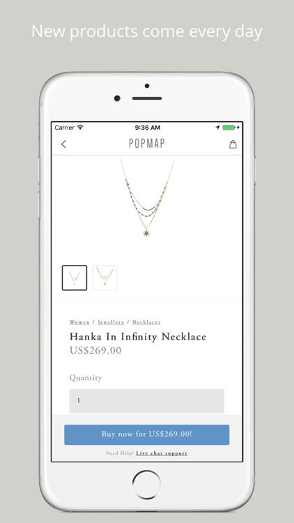 Popmap - Shop the world like a local screenshot-3