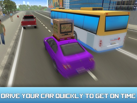 City Car Delivery Boy Simulator 3D-ipad-2