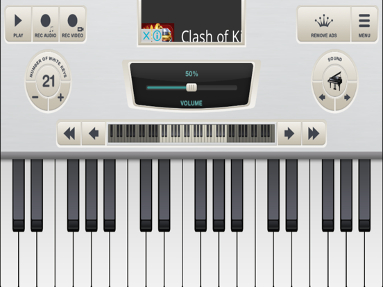 Virtual Piano Keyboard | App Price Drops