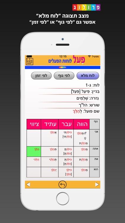 Hebrew Verbs & Conjugations | PROLOG (323)