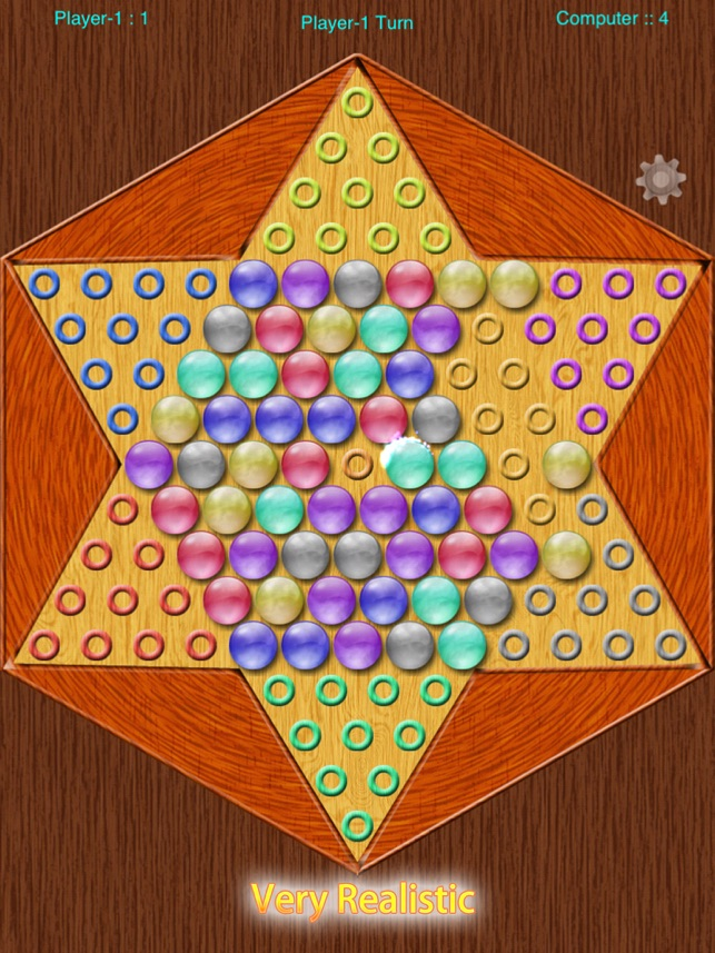Play chinese checkers against computer