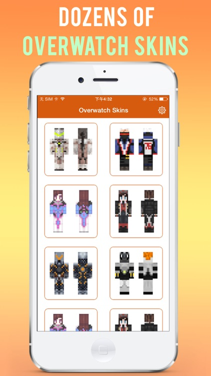 OW Skins Free for Minecraft