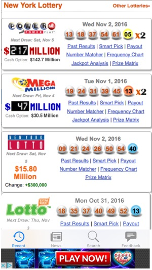 Lottery Results NY on the App Store
