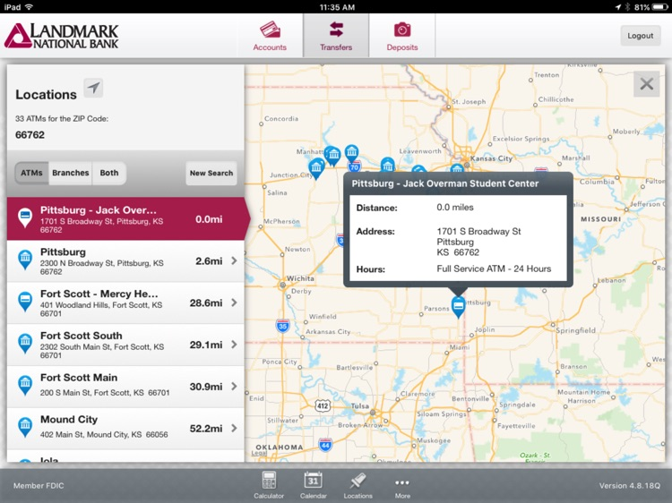 Landmark National Bank for iPad screenshot-4