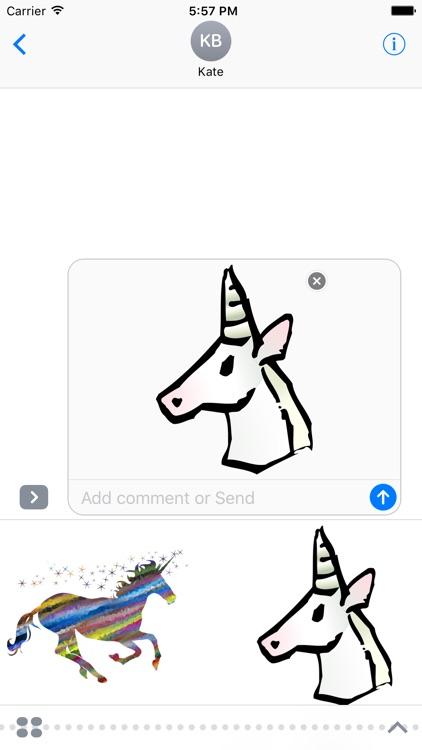Unicorn Stickers!