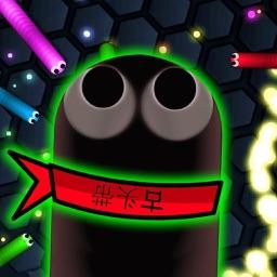 Agar Snake worm -  Rolling Battle class game