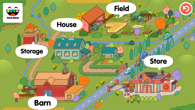Toca Life: Farm screenshot-4