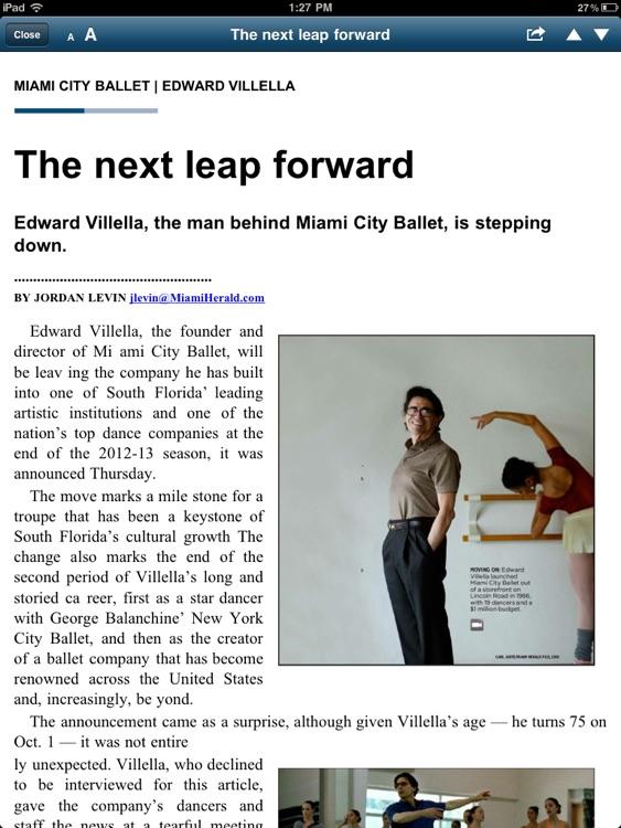 The Miami Herald Print Edition screenshot-4