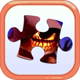 Cartoon Jigsaw Puzzles Box for Happy Halloween