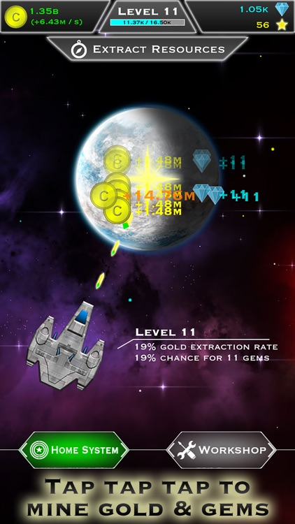 Click and Conquer: Space Age - Idle Shooter screenshot-0