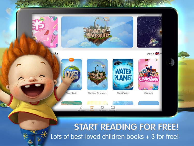 KidBook Interactive Books for Kids Bedtime Stories