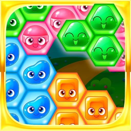 Candy Hexagon Blast - Puzzle Block Hexa FREE