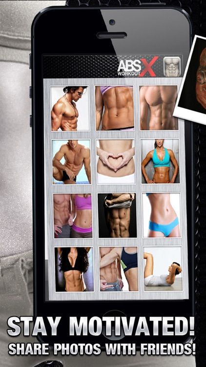 Ab Workout X FREE+ Six-Pack Core Abdomen Exercises screenshot-3