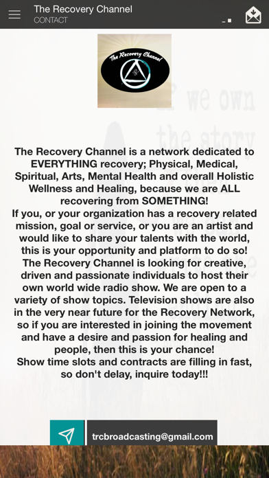 The Recovery Channel screenshot two