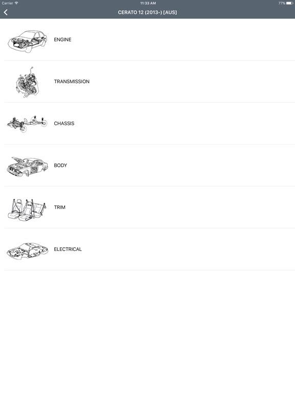 Kia Car Parts - ETK Parts Diagrams | App Price Drops