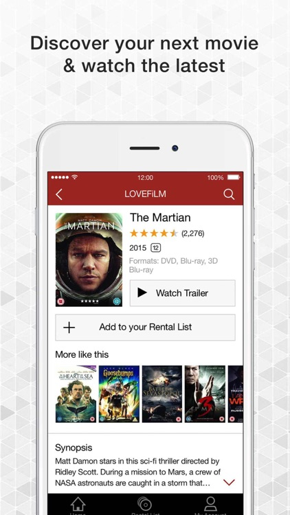 LOVEFiLM By Post UK for iPad screenshot-3