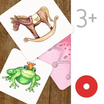 Princess Match: Learning Game Kids & Toddlers Free Logo