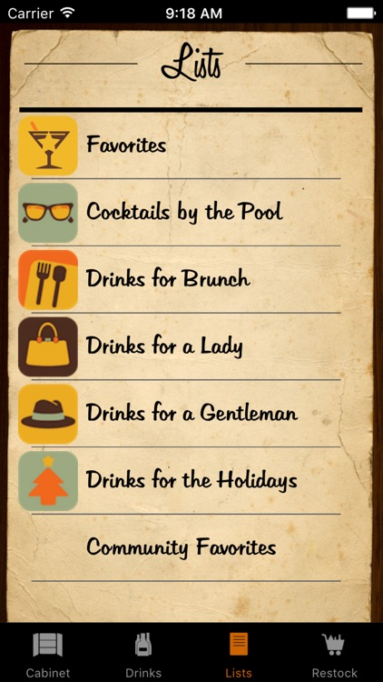 Liquor Cabinet - Cocktails & Drinks screenshot-4