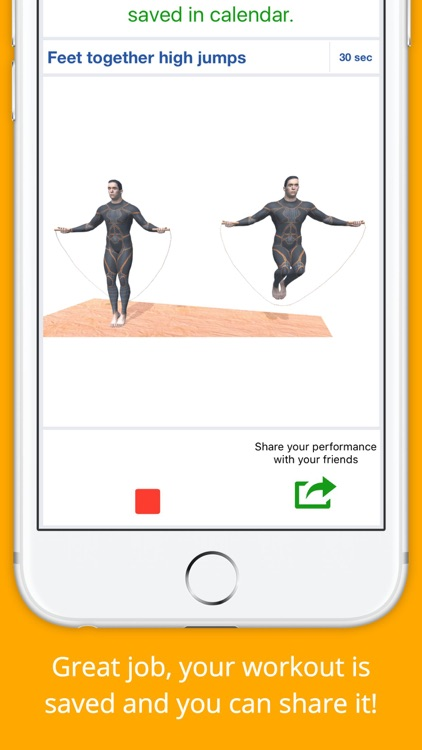 Jump the Rope Workout Challenge PRO - Cardio screenshot-3